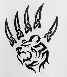 Download Free Diseños tribales Tatuajes de osos and Búsqueda on Pinterest Tattoo to use and take to your artist.