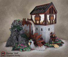 Casas medievales de películas fantásticas recreadas en LEGO