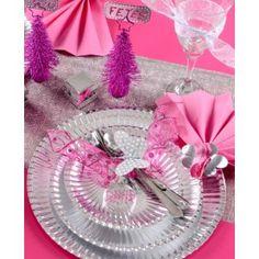 Assiette carton argent pas chère, Assiette carton métallisé argent ronde 23 cm les 10, art de table, vaisselle jetable, wedding, mariage, table festive, anniversaire, party, fêtes, baptême, noël