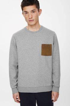 Suede pocket sweatsh #menfitness #mensfitness #mensports #sweatshirts #hoodies…