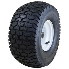 Marathon Industries 20346 15 X 6.50-6 Inches Pneumatic Turf Lawn Mower Tire
