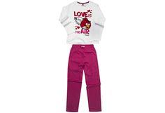 Angry Birds -tyttöjen pyjama - Prisma verkkokauppa, 12,75 €. Koko 4.