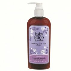 Hugo Naturals Baby Shampoo & Baby Wash, Shea Butter & Chamomile, 8 Ounce Pump Bottle, (Pack of Baby Skin Care, Baby Care, Baby Soap, Pyrus, Organic Aloe Vera, Baby Shampoo, Natural Shampoo, Milk Bath, Natural Baby