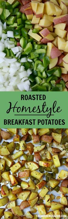 These are SO GOOD and easy!! Our all-time favorite breakfast potatoes. Great for big breakfasts and brunches too - just toss it in the oven. Such a crowd pleaser! (vegan, gluten-free)