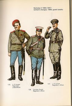 UNIFORMES DEL EJERCITO IMPERIAL RUSO Russian Revolution, Imperial Russia, Red Army, World War I, Eastern Europe, Military History, Troops, Wwii, Battle