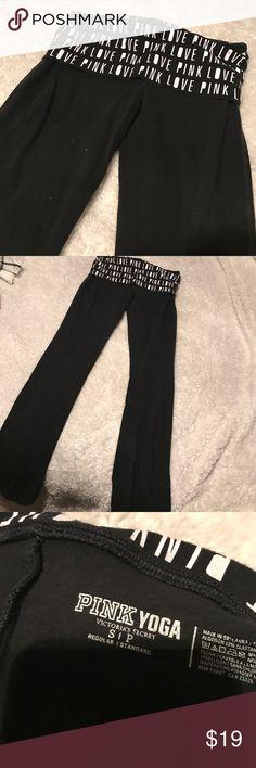 Victoria's Secret PINK leggings Excellent condition, open to offers😊 PINK Victoria's Secret Pants Leggings