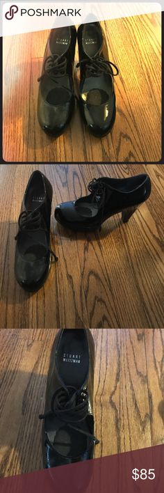 Black Stuart Weitzman High Heel Mary Janes Adorable black Stuart Weitzman high heeled Mary Janes--barely worn! Stuart Weitzman Shoes Heels