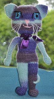 Jay Crochet: Amigurumi- Kotka Monster High- wzór na szydełko