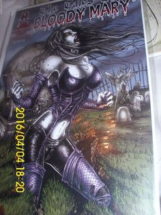 """BLOODY MARY COMICS  """"THE TALES OF BLOODY MARY""""  ISSUE # 1   USA  Uncertified"""