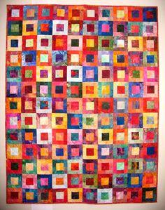 Pretty & bright quilt!
