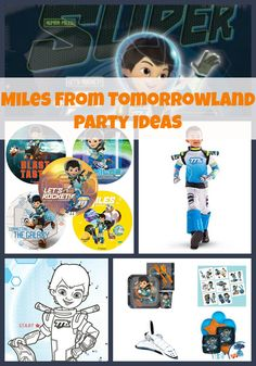 Miles-from-tomorrowland-birthday-party ideas-and-themed-supplies-roundup