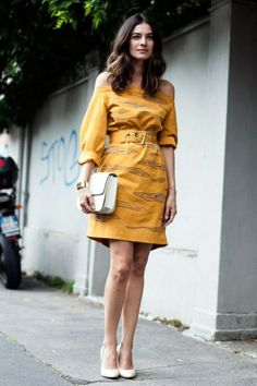 Photos: Street Style from Milan Fashion Week Spring/Summer 2014   Vanity Fair