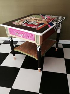 vintage furniture hand painted furniture by brushstrokes2inc