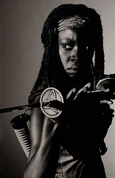 Michonne ~ The Walking Dead Fan Art