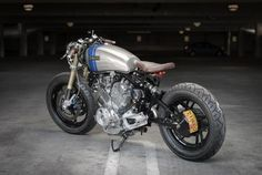 Yamaha Virago Cafe Racer › Cool Yamaha Virago Custom VX750 by Eric Meglasson