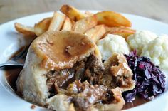 steak and ale suet pudding #british #food