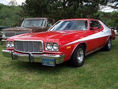 1974 Ford Gran Torino de Starsky et Hutch - Dark-Cars Wallpapers Ford Motor Company, Car Ford, Ford Trucks, Movie Cars, Movie Tv, My Dream Car, Dream Cars, Grand Torino, Starsky & Hutch