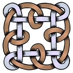 Very intertwined loopy illustration