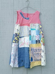 Festival Floral Tunic funky patchwork embroidery tunic