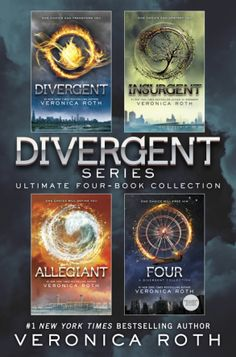 Divergent Series by Veronica Roth with English verison language