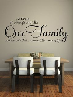 Our family, a circle of strength and love, founded on faith...Joined in love;..Kept by God #quotes http://blog.huisjetuintjeboompje.be/23-februari-2015-2/