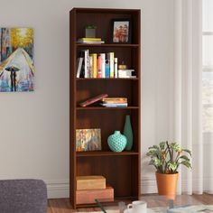Wicker Shelves You Ll Love In 2019 Wayfair 5 Shelf Bookcase, Etagere Bookcase, Bookcases, Metal Shelving Units, Wood Shelves, Particle Wood, Cube Unit, Cream Walls, Wicker Shelf