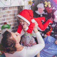 Новогодняя фотосессия чудесной семьи
