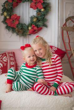 christmas photos siblings christmas pajamas holidays gretchen noelle photography