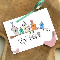 Chalk Lettering, Doodle Lettering, Creative Lettering, Diy Cards, Your Cards, Birthday Greetings, Birthday Cards, New Home Cards, Creative Cards