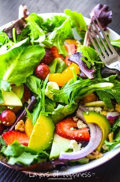 One of my favorite salads! Super healthy and absolutely delicious!
