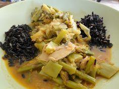 Mis Recetas Anticáncer: Arroz negro con verduras vindaloo