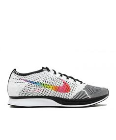 new styles f74b8 6c2f5 Flyknit Racer Be True White, Multi-Color Black. Mens Shoes SaleNike ...