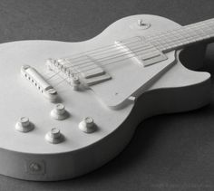 Electric Guitar Paper Model Kit