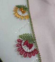 Needle Tatting, Tatting Lace, Needle Lace, Crochet Edging Patterns, Crochet Motif, Woolen Craft, Crazy Quilt Stitches, Crochet Shell Stitch, Quilt Stitching