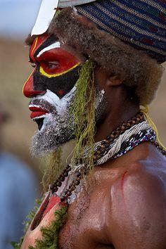 Mount Hagen sing sing. Papua New Guinea. © Inaki Caperochipi Photography