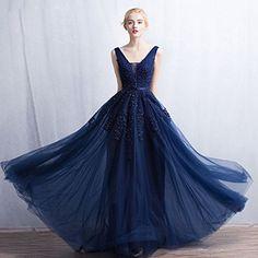 Vimans Women's 2016 Elegant Long Sequined Lace Prom Dress Evening Gowns   Amazon.com