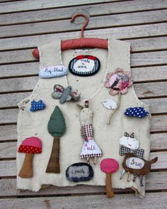 Julie Arkell Hand Stitched Picture Brooches - Upcoming Class Sun 17th March
