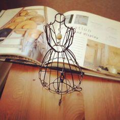 【針金細工】トルソー作りのワークショップの画像:針金日記