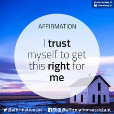 Trust Myself