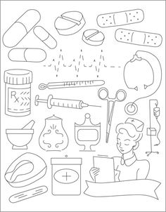 Medicine Cabinet - Embroidery Patterns