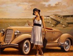 Peregrine Heathcote is an British painter*, known for working in contemporary academic realism style. Heathcote was born in London. For biographical notes -in english and italian- and other works by Heathcote see Peregrine Heathcote, 1973 Art Deco Posters, Vintage Posters, Vintage Art, Poster Art, Pinup, Florence Academy Of Art, Peregrine, Edward Hopper, London Art
