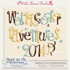 """Featured!  """"Made by Me Inspirations"""" She took my $1 commercial license font and OH WOW did she make it fancy!  I love it!!"""