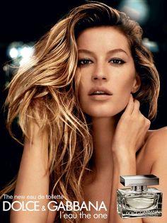 Gisele Gabbana Perfume Ad