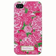 Lilly Pulitzer iPhone 4/4S Cover - May Flowers by Lilly Pulitzer. $26.99. From Lilly Pulitzer's Spring/Summer 2012 collection