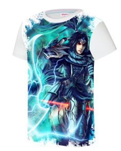 LOL League of Legends Xin Zhao t shirt 3D hero short sleeve t shirts-