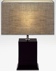 ADA l Armani Casa. Beautiful shade - the hardest part of selecting a lamp!