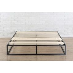 Decorate your room in a new style with murphy bed plans Low Platform Bed Frame, Raised Platform Bed, A Frame Cabin, A Frame House, Murphy-bett Ikea, Mattress Frame, Foam Mattress, Steel Bed, Industrial Furniture