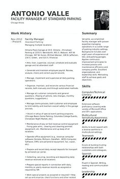 Commis Chef Resume Template  Hotel And Restaurant Management