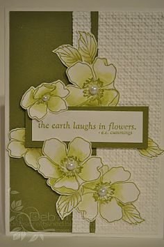 Debs Craft Shed: Stamp Set - Fabulous Florets