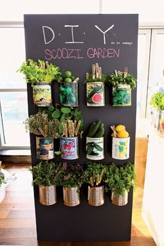 "For an event in April, Scoozi Events NYC designed a ""foraged"" custom cocktail bar that allowed guests to pick garden-fresh herbs, fruits, an..."